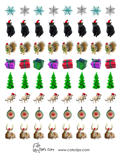 photograph relating to Printable Christmas Stickers named No cost Printable Stickers