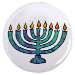menorah magnet at cafepress