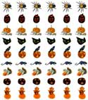 Halloween stickers from www.catsclips.com