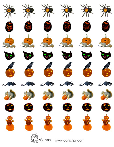 photo relating to Halloween Stickers Printable known as Free of charge Printable Stickers