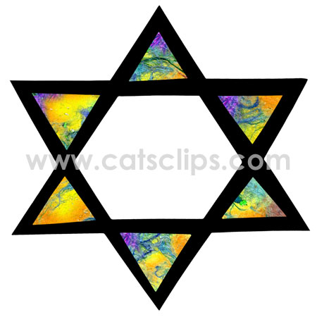 star of david border