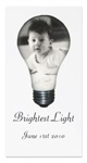 light bulb photocard at zazzle